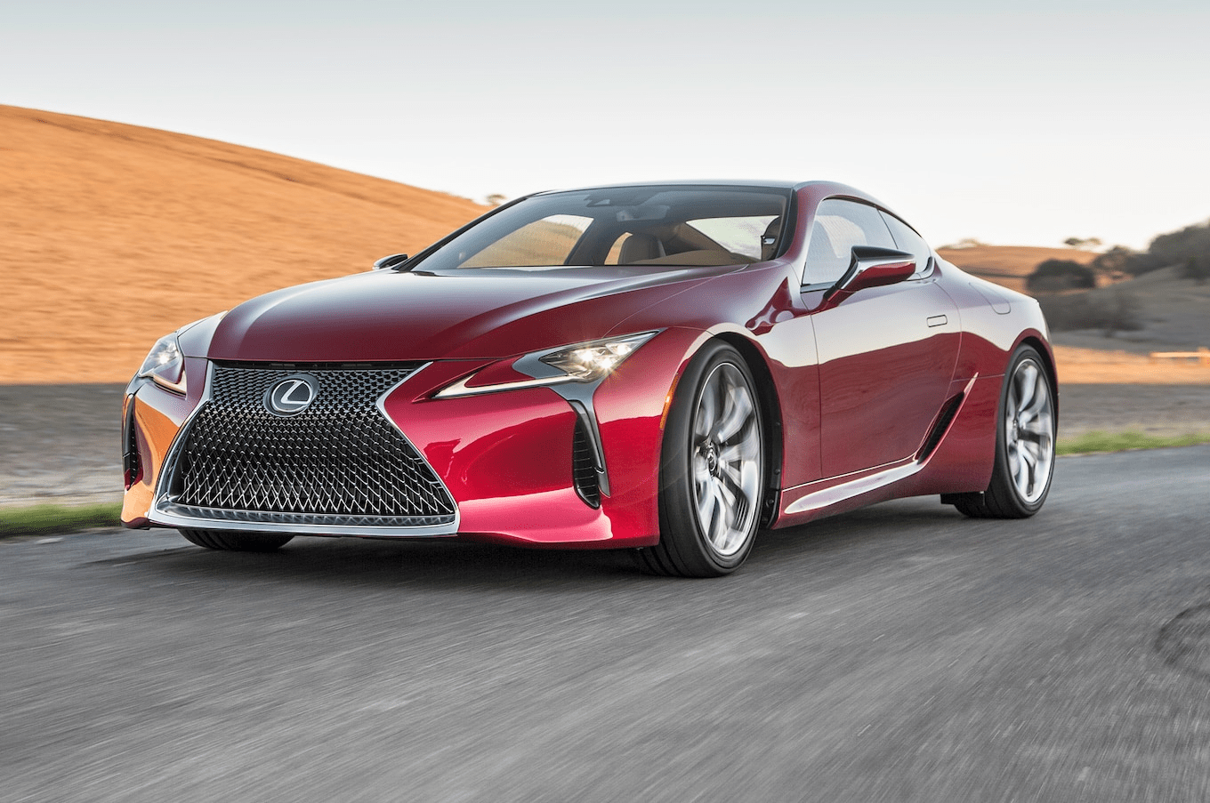 experience  a new realm of performance  the 2019 lexus lc