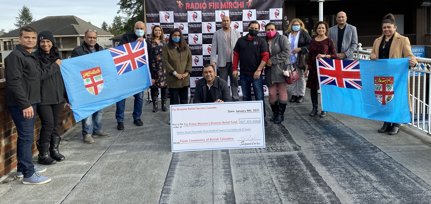 Fijian community in Vancouver raises more than FJ$27,000 towards Tropical Cyclone Yasa Relief Fund - Voiceonline.com